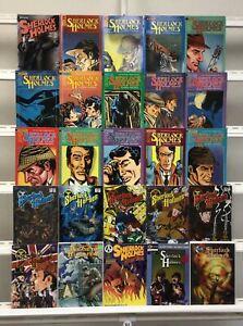 Sherlock Holmes Eternity Renegade 25 Lot Comic Book Comics Set Run Collection