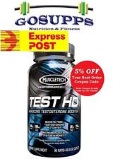 MuscleTech Test HD 90 Capsules Testosterone Booster Alphatest Super Pure Test