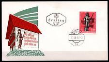 100J. nation. Feuerwehrdienst. FDC(1). Österreich 1963
