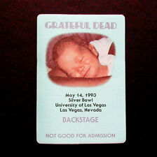 Grateful Dead Backstage Pass Smiling Baby Kid Photo Las Vegas UNLV 5/14/1993