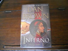 INFERNO by Dan Brown, SIGNED, true 1st ed/1st print US 2013 HCDJ