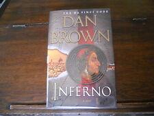 INFERNO by Dan Brown, SIGNED, true 1st ed/1st print US 2013 HCDJ