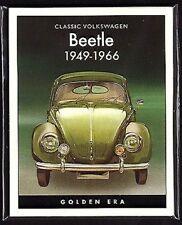 Volkswagen Beetle 1949 A 1966 - Collectors Carte - Split Ovale Karmann Cabriolet