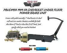1949-1954 Chevy Frame Mount Power Brake Pedal Assembly Designed for Disc Drum