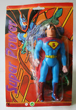 VERY RARE VINTAGE 90'S SUPER POWERS SUPERMAN FIGURE MEGO KO CHINA NEW !