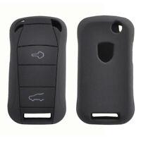 For Porsche Cayenne 2002 - 2008 2 Button Silicone Remote Key Case Fob Cover