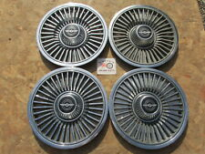 """1980, 1981, 1982 FORD THUNDERBIRD 14"""" WHEEL COVERS, HUBCAPS, SET OF 4"""