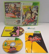 Game Consolle Gioco Microsoft XBOX 360 PAL ITALIANO Play Atlus - PERSONA 4 ARENA