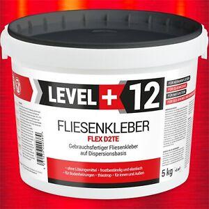 5kg Dispersionkleber Fertig-Fliesenkleber Flexkleber Kleber für Glasmosaik RM12