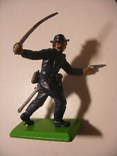 Soldat ancien 1/32 Figurine BRITAINS Deetail 1971 Far West COWBOY Yankee