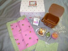 NEW  American Girl Bitty Baby RETIRED Picnic Set in the WHITE box
