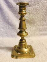Antique Victorian Solid Brass Candlestick/Candleholder