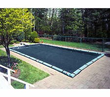 30'x50' Deluxe Rectangle Inground Swimming Pool Winter Cover-10 Year Limited WTY