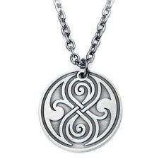 Official Doctor Who Seal of Rassilon Pendant Necklace