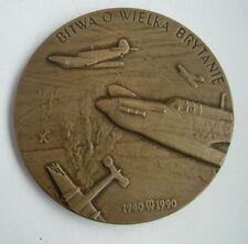 POLAND POLISH Battle of Britain  ENGLAND AF PILOT MEDAL WWII RARE