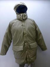 New WOOLRICH classic khaki hooded parka winter puffer Coat hunt mens sz Large