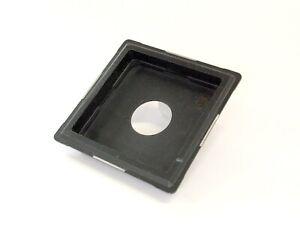 Linhof 679 Double Recessed Lens Panel Copal 0(18mm Depth). Missing Badge.VGC