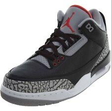 Nike Air Jordan 3 OG Black Cement Grey 2018 Retro Size 10