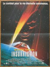 STAR TREK INSURRECTION P. Stewart 1998 Affiche Originale 40x55 Movie Poster
