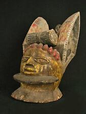 Yoruba Egungun Helmet Mask, Nigeria
