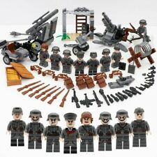 Lego WW2 German Artillerie Canon Custom Lego Soldat Allemand Lot