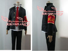 Hitman Reborn! Hibari Kyoya 1st Men Clothing Boy Cosplay Costume K002