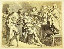 Odysée d'Ulysse Théodore Van Thulden 1633 d'ap le Primatice Odyssey of Ulysse 54