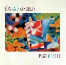 Jon and Vangelis PAGE OF LIFE - CD 1991 new