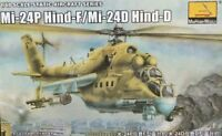 Trumpeter 1/48 80311 Mi-24P Hind-F/Mi-24D Hind-D model kit ◆