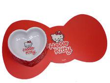 Hello Kitty Katzennapf mit Unterlage, Melanim,  250 ml