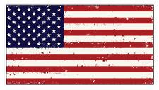 American Flag (J55) USA Vinyl Decal Sticker Distressed Car Laptop Window
