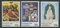CHRISTMAS 1979 - MNH SET OF THREE (G25-RR)