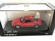 Alfa Romeo GTV 2003 - Rouge - NOREV 1/43 VOITURE 790051