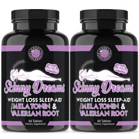 Skinny Dreams, Women's Weight Loss Sleep and Rest Aid  Vegetarian Pill 2-Pack