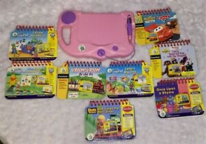 LeapFrog Pink My First LeapPad Preschool Learning System With 8 Books/Cartridges