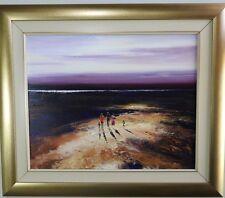 Colin Parker oil painting 60x75cm Central Australia Light