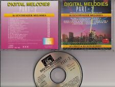 THE GINO MARINELLO SYNTHESIZER SECTION Digital Melodies P2 CD HOLLAND