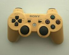 Sony Playstation 3 PS3 DualShock 3 Controller White Genuine OEM - yellowing