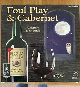 Foul Play and Cabernet 1,000 piece jigsaw puzzle