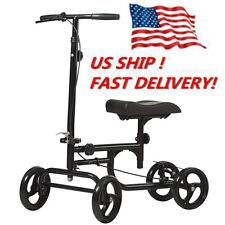 2020 ELENKER Economy Steerable Knee Walker Scooter Medical Crutch Alternative