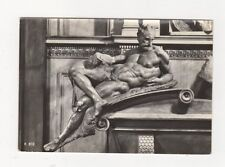 Firenze Cappella Medicee Il Crepuscolo Michelangelo RP Postcard Italy 554a