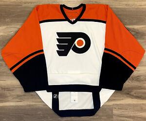 Philadelphia Flyers Authentic Reebok 6100 Hockey Jersey Vintage 2005-2007 Away