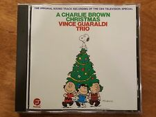 A Charlie Brown Christmas Vince Guaraldi Trio CD Holiday Music 1988 CBS Special