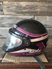 Vintage Polaris Indy Snowmobile Helmet Bell