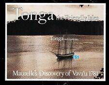Tonga Bl. 1 **, Entdeckung Vavau-Schiffe