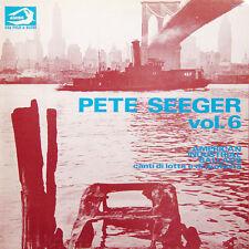 PETE SEEGER Vol 6 American Industrial Ballads ITA Press Albatros VPA8368 1977 LP