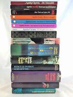 👮  10 x Agatha Christie - Sammlung Krimi Bücherpaket - Poirot Miss Marple