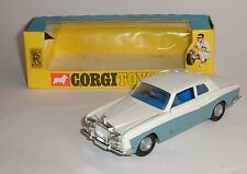 Corgi Toys No. 273, Rolls Roys Silver Shadow, 'Golden Jacks', - Superb Near Mint