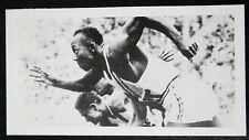 Jesse Owens Berlin Jeux Olympiques Sprinter USA Carte Photo # très bon état