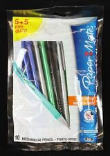 10 Papermate 2020 0.7mm Mechanical Pencils. Mixed Colours. Pack of 10